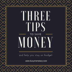 Budget Tips {Guest Post }