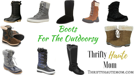 Boots For the Outdoorsy