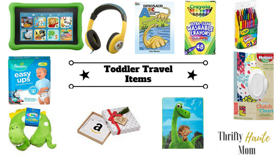 Toddler Holiday Travel Items