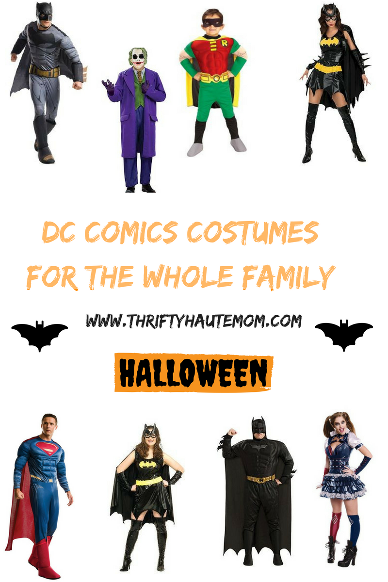 DC Comic Inspired Halloween Costumes