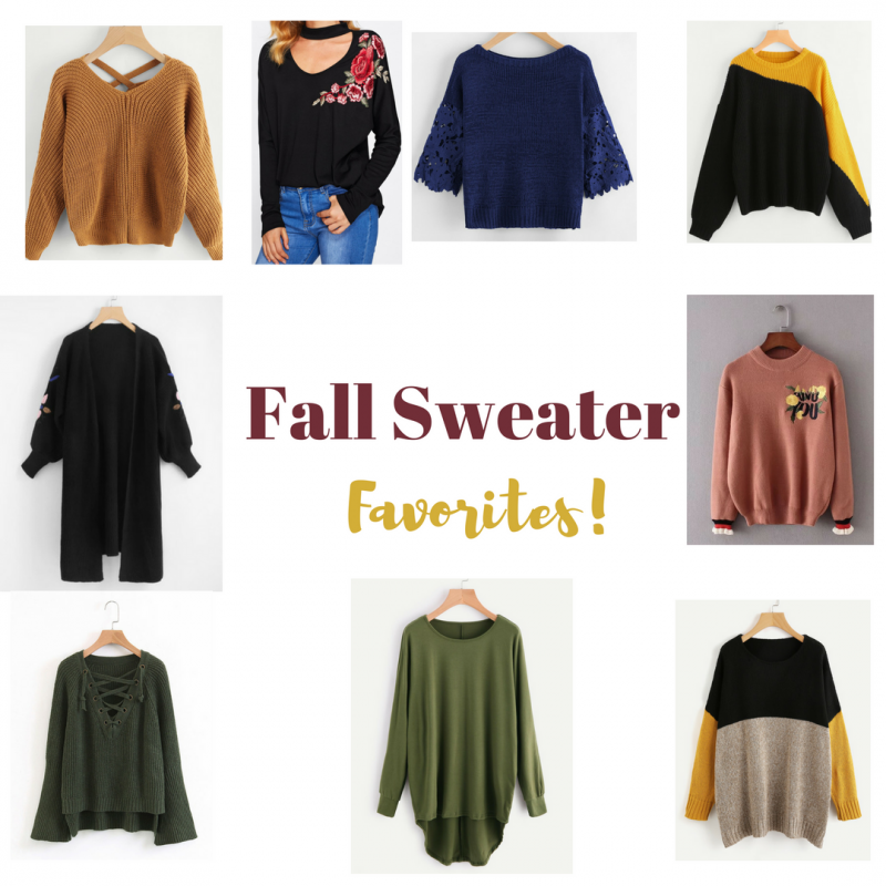 end of fall favorties