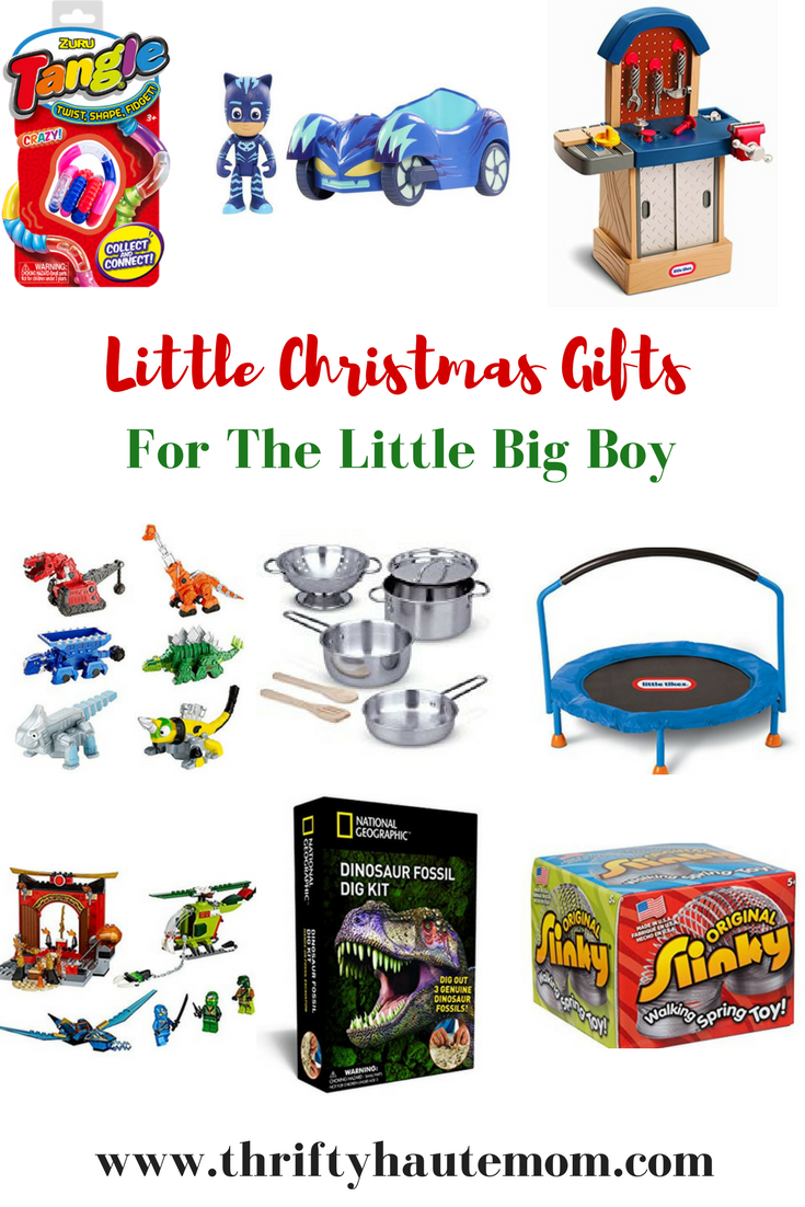 Little Christmas Gifts For Those Little Big Boys