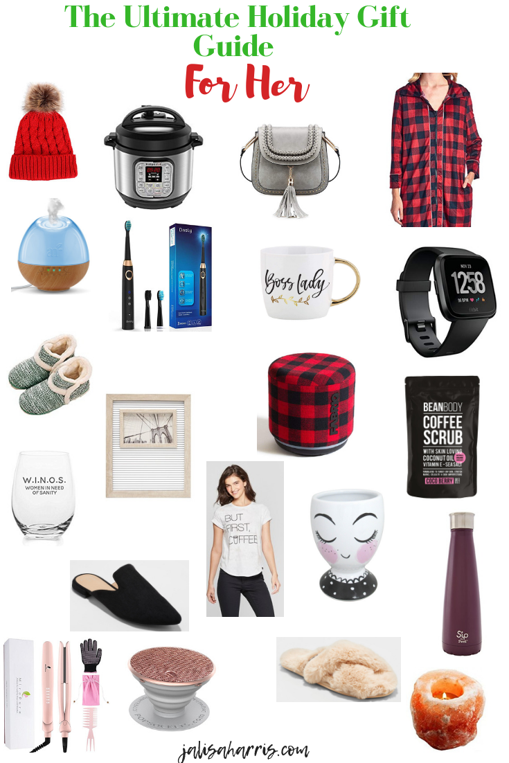 holiday gift guide for her pin