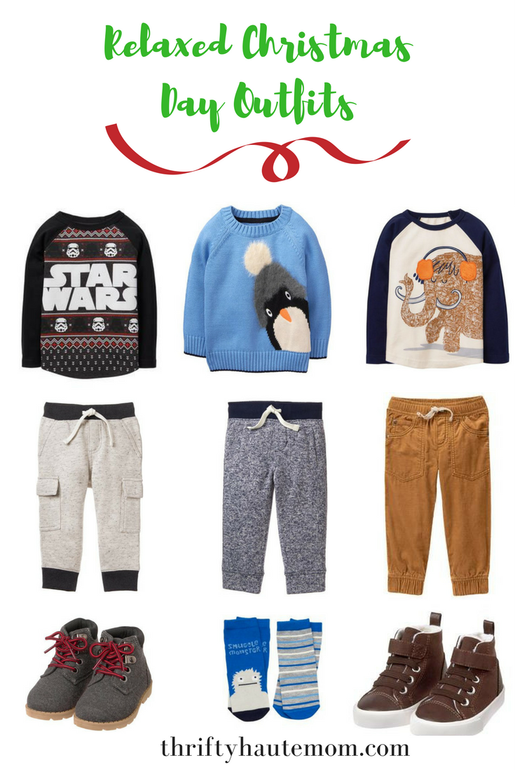 relaxed xmas day outfits for boys