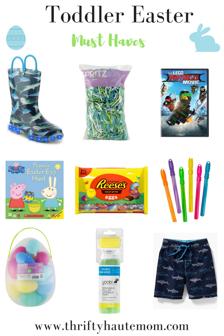 Unconventional  Easter Basket Must Haves