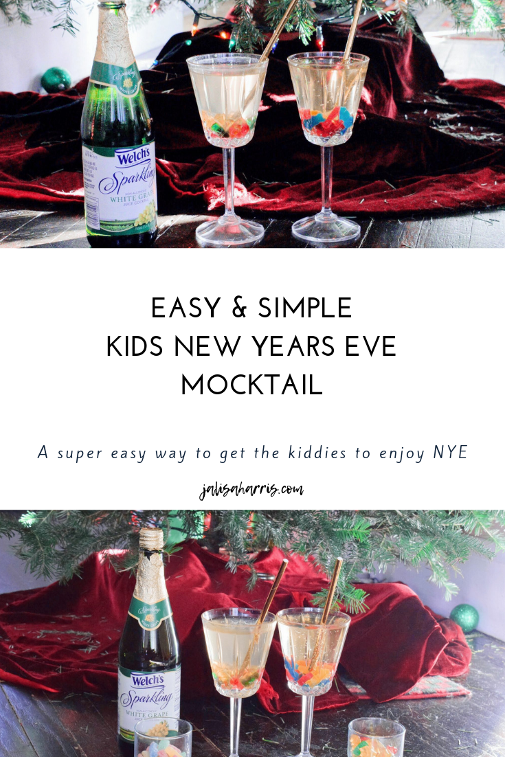 New Years Eve Mocktail Pin