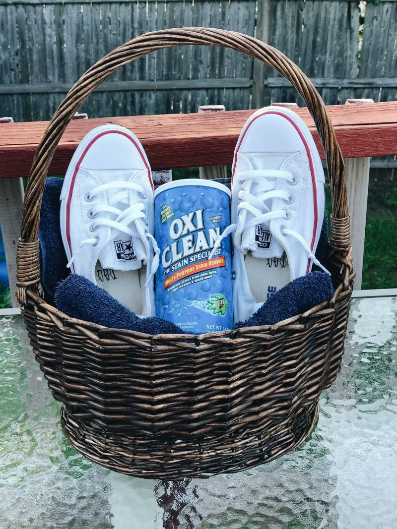 Converse and Oxiclean