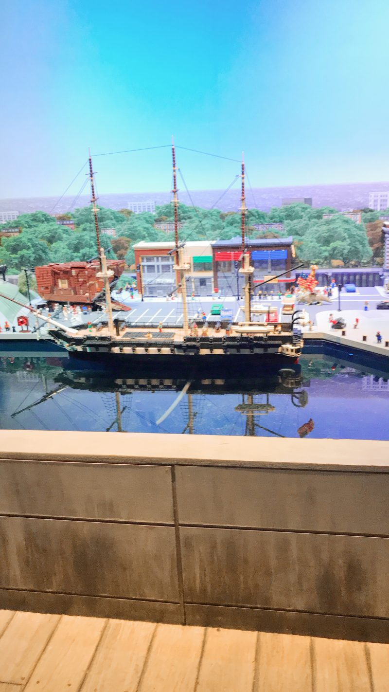 Legoland Boston Miniland Harbor