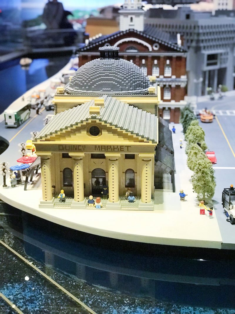 Legoland Boston Miniland Quincy Market