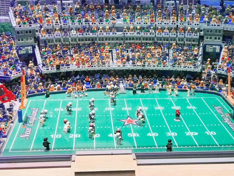 Legoland Boston Miniland Gillette Stadium