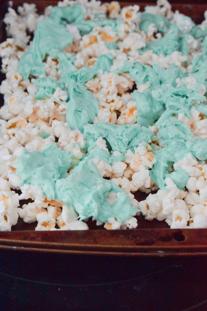 St. Patricks Day Popcorn