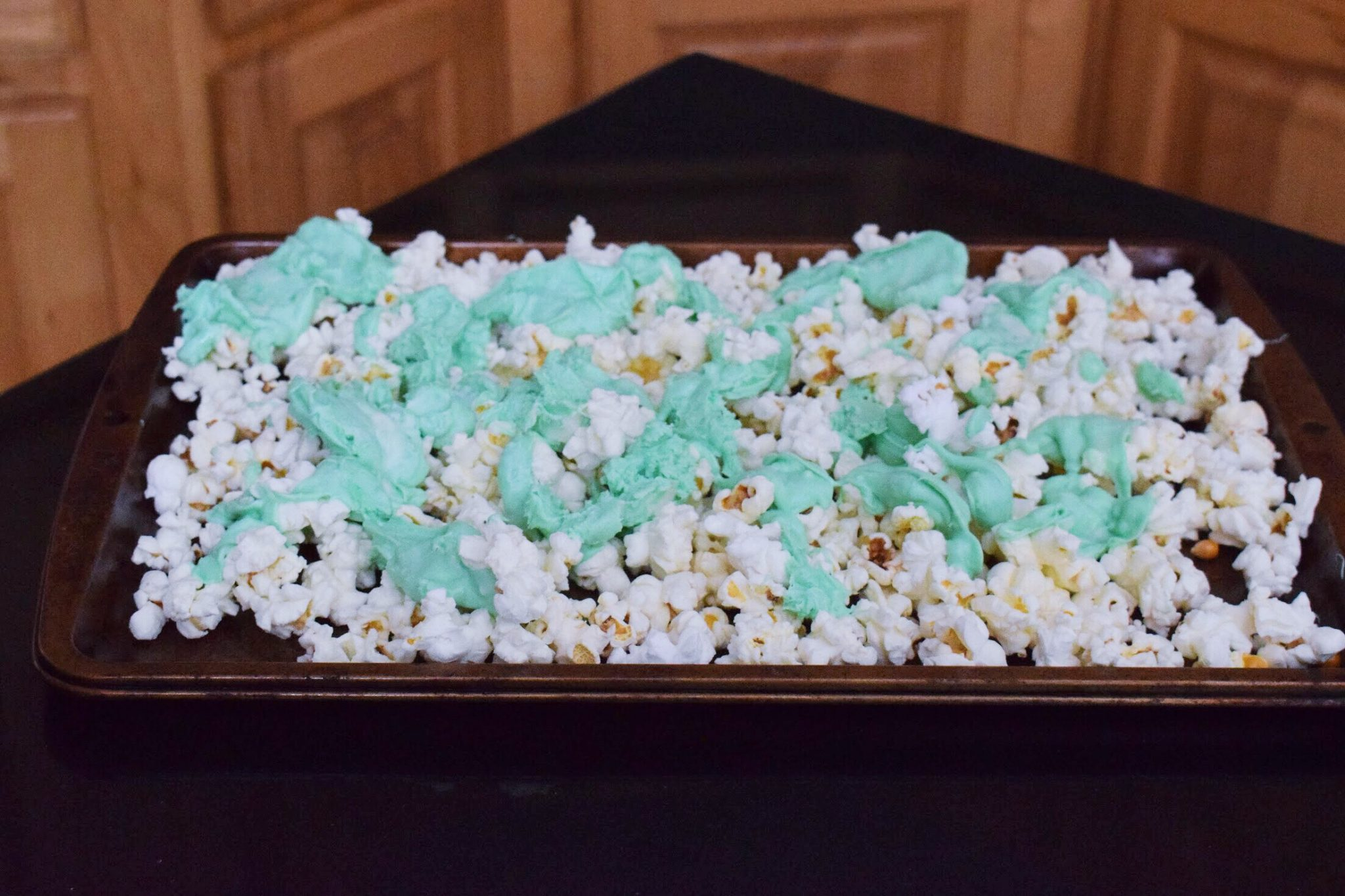 St. Patrick's Day Sweet Popcorn Mix