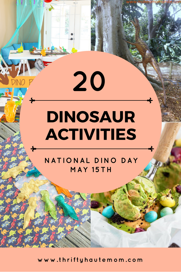 20 Dinosaur Activities For Dino Lovers