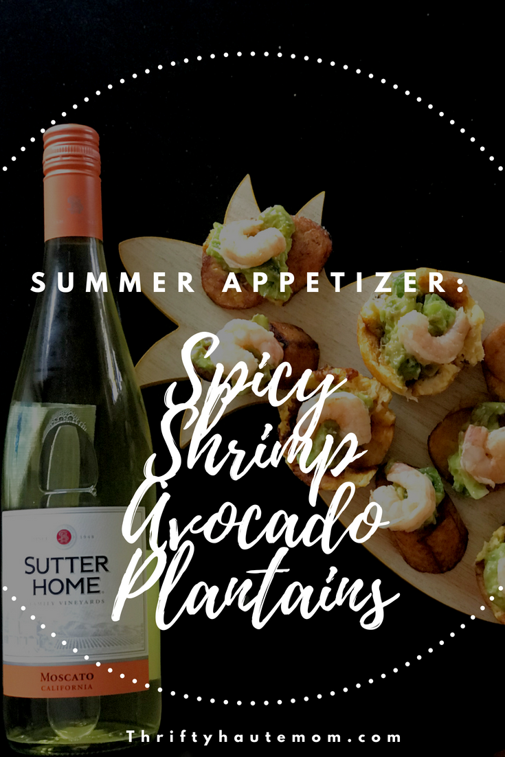 Easy Spicy Summer Appetizer: Shrimp Avocado Plantains