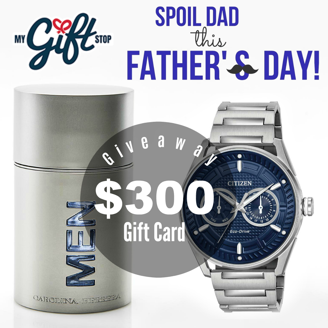 Celebrating Father's Day With My Gift Stop + Giveaway