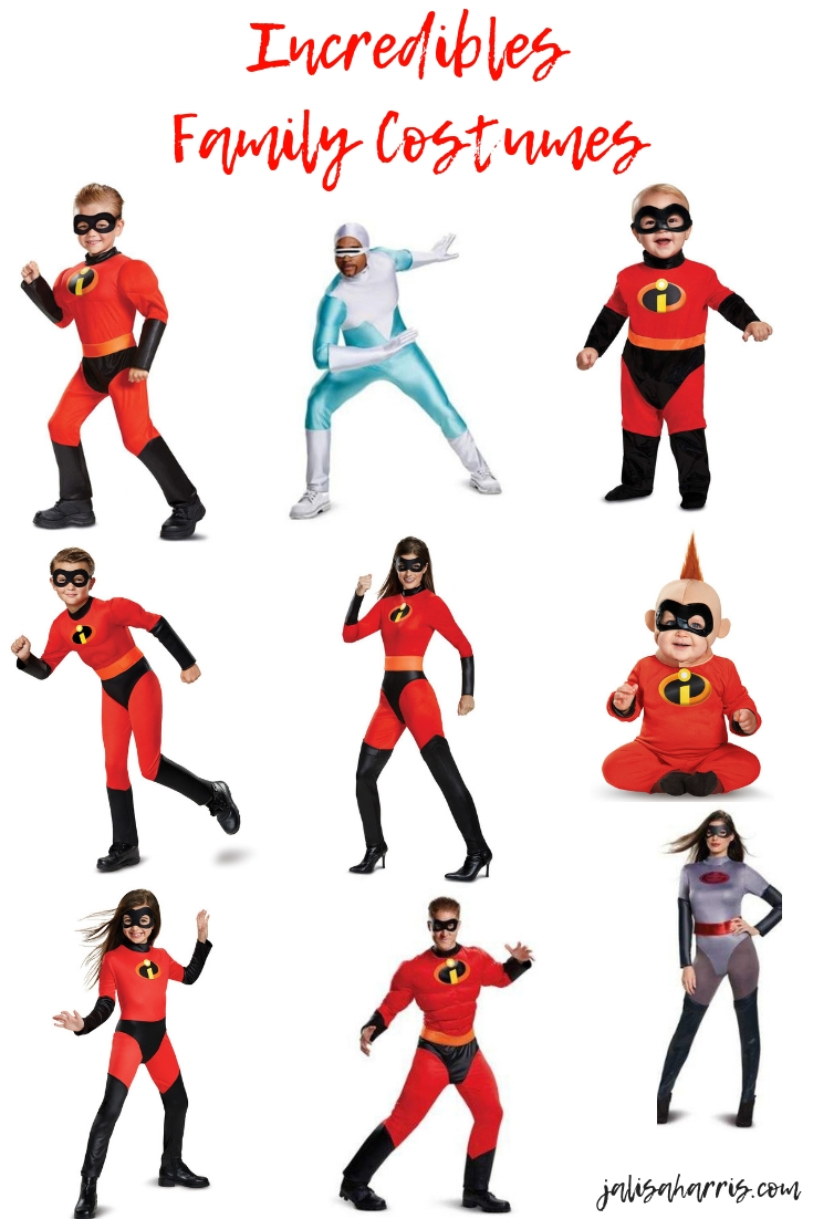 Incredibles Family Inspired Halloween Costumes
