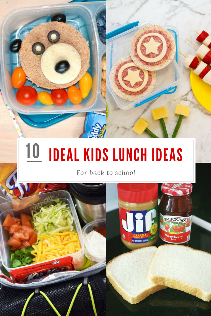 10 Ideal Back To School Lunch Ideas
