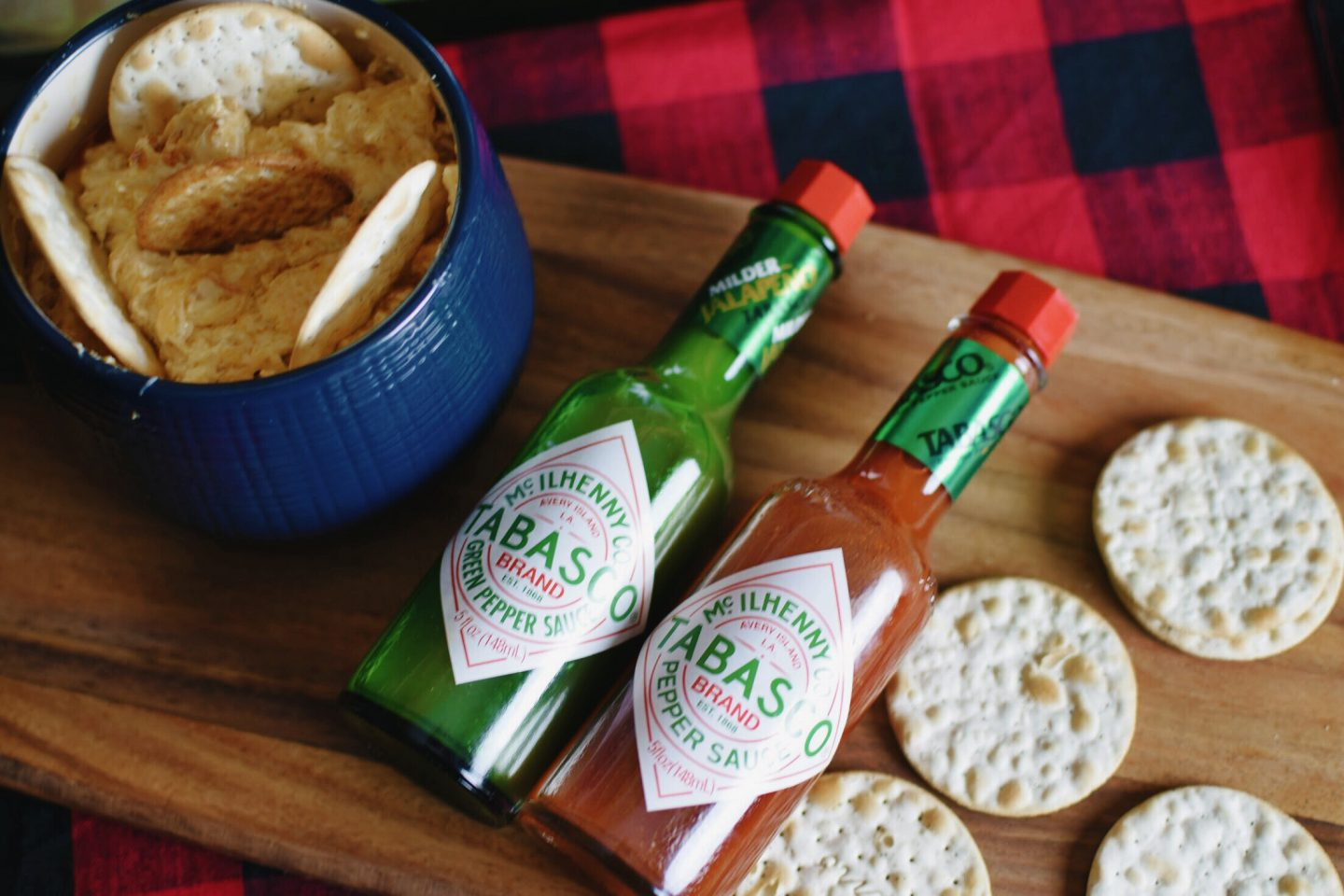 Spicy Dip Final Flat Lay