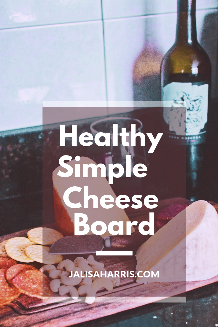 simple cheese board