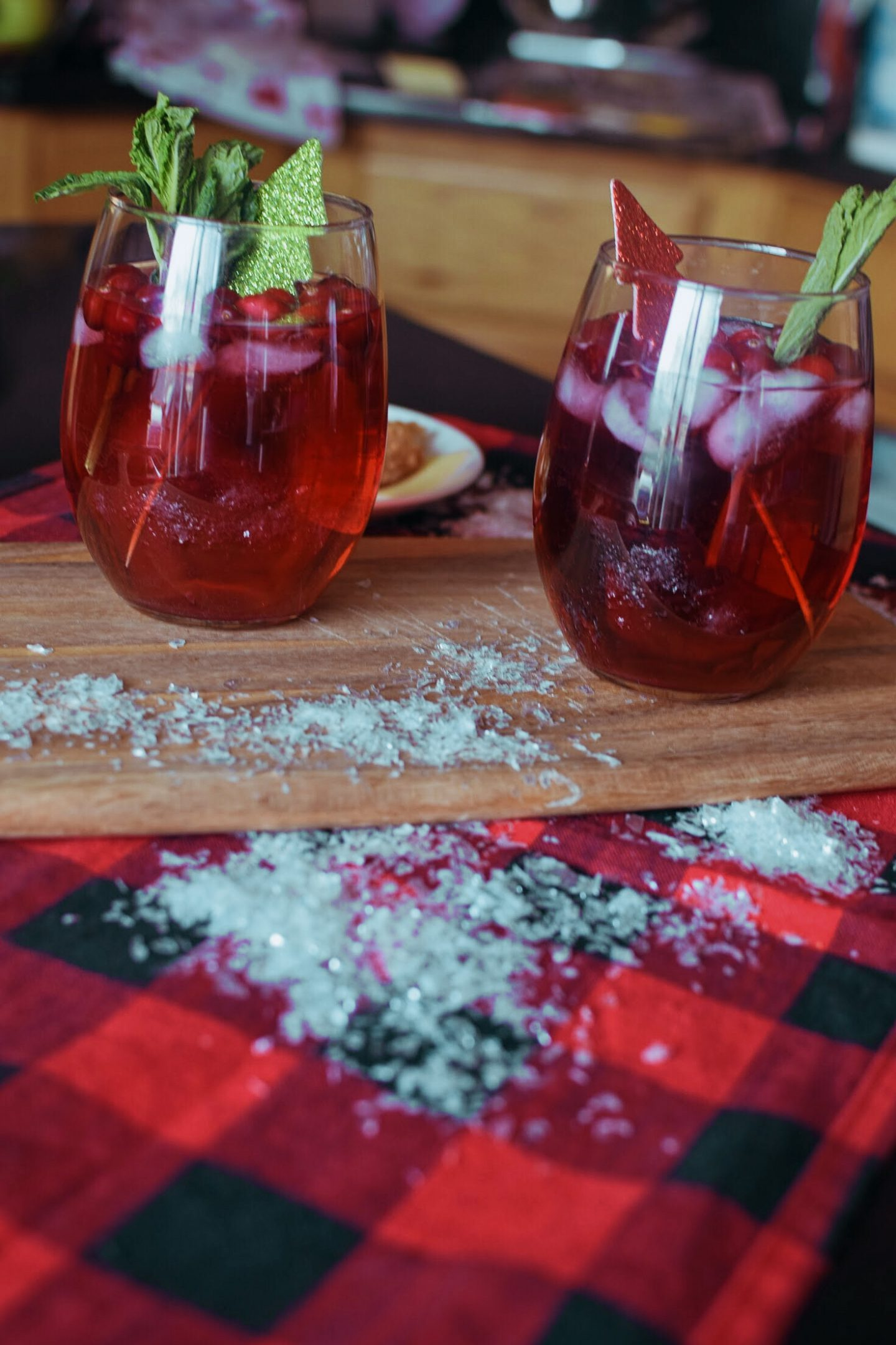 Easy Cranberry Red Wine Spritzer