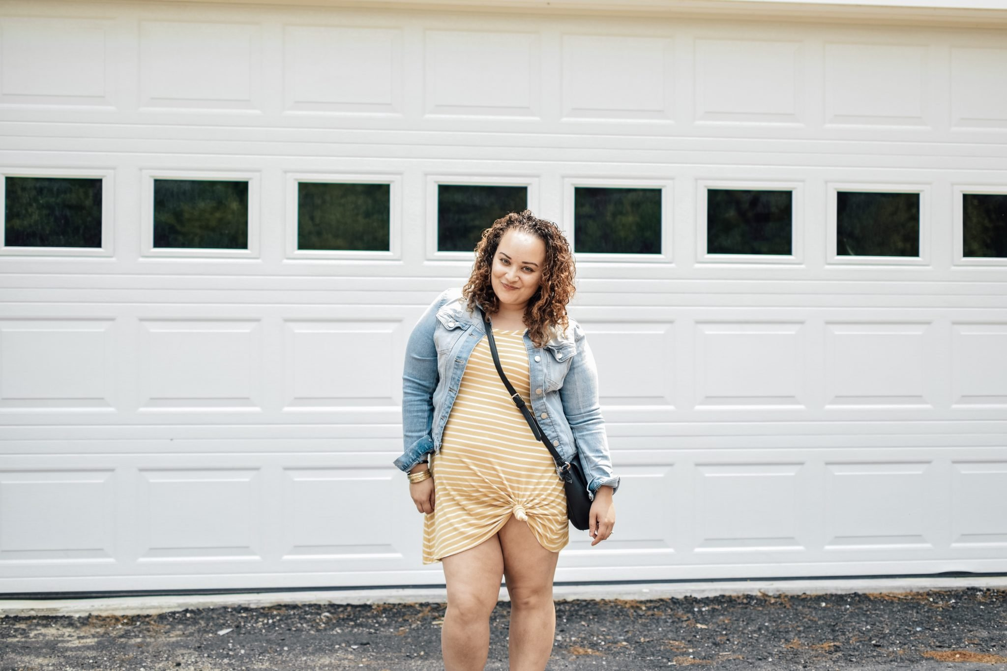 Curvy dress outfit for Summer