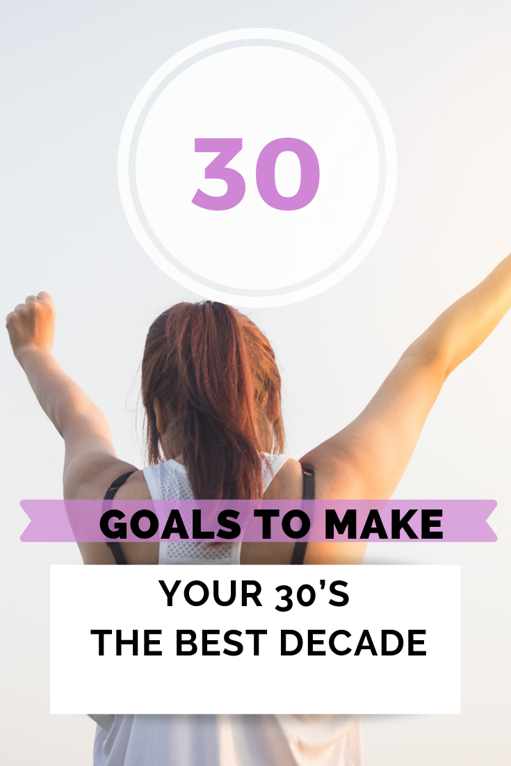 30 personal goals I want to accomplish now (It's my birthday)
