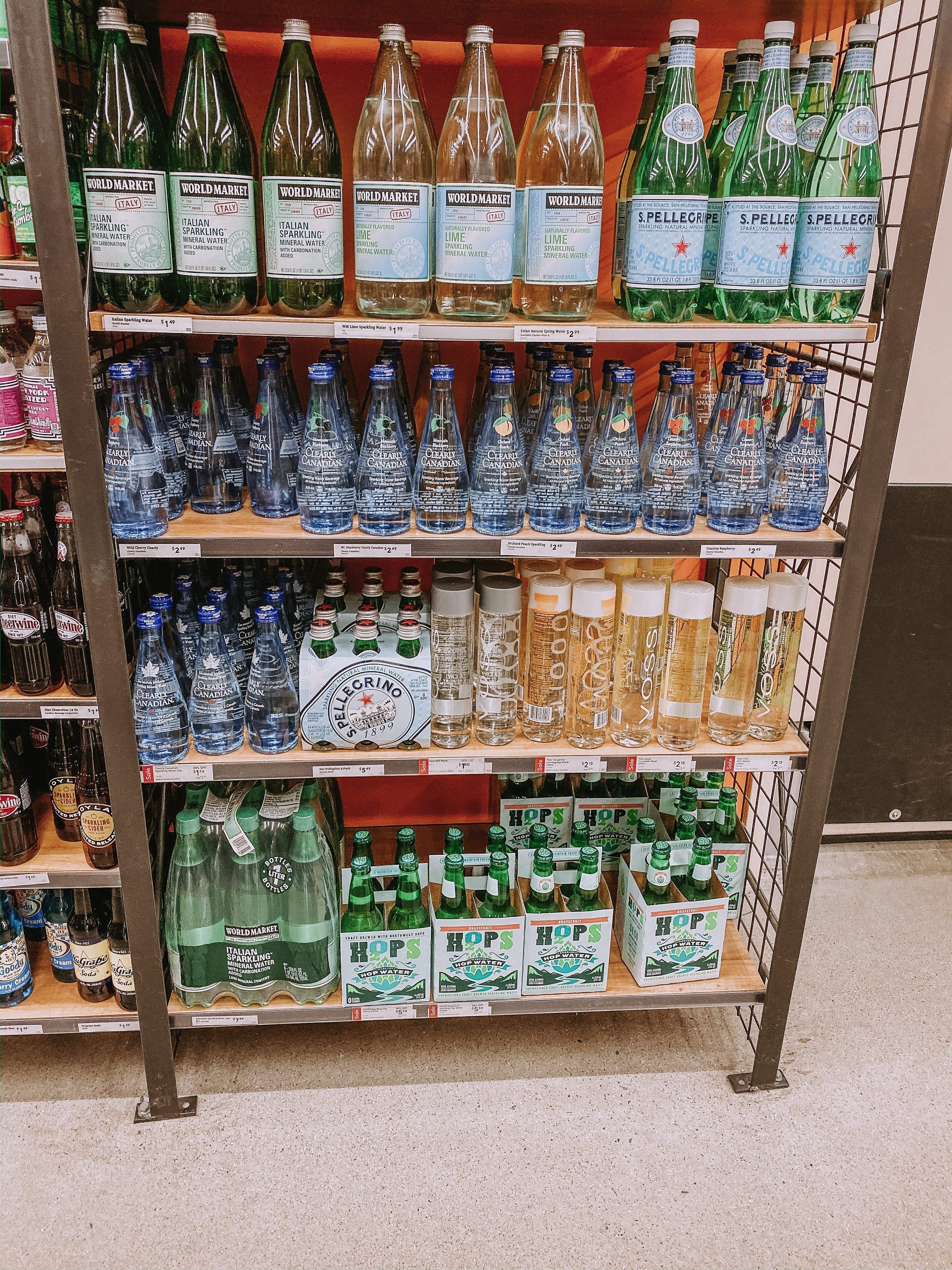 Cost Plus World Market Sparkling Water | #infusedwater #healthydrink #sparklingwaters