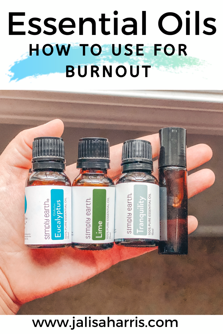 Essential Oils can help benefit many problem areas. Especially dealing with burnout which can be from everyday life, kids, home and work. Learn how you can use essential oils to combat dealing with burnout. | Burnout | Essential Oils | Health | Wellness | Self Care Tips | #wellness #healthtips #essentialoils #selfcare #selfcaretips