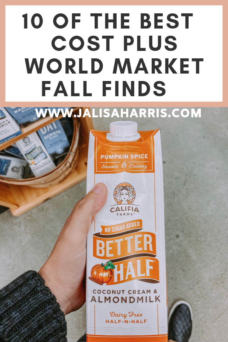 I've heard so many great things about Cost Plus World Market. After moving close to my hometown I realized we have one close by. So I went ahead and finally experienced what it was about. Checkout all these finds you wouldn't think Cost Plus World Market would offer. Beer, wine, gifts, beauty and more. | #costplusworldmarket #beautyfinds #fallfinds #fallshopping