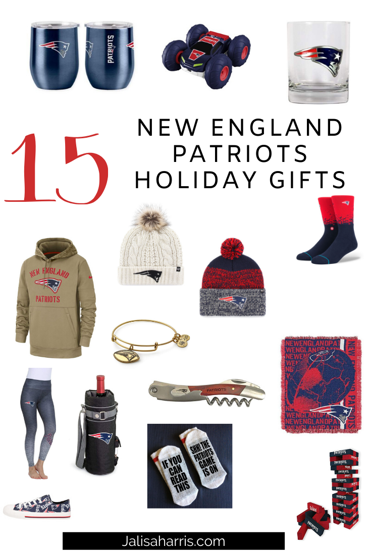 New England Patriots Sports Fan Gifts Holiday Guide
