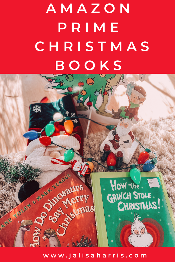 25 of the best Christmas books for kids who are learning to read. Check them out on Amazon Prime