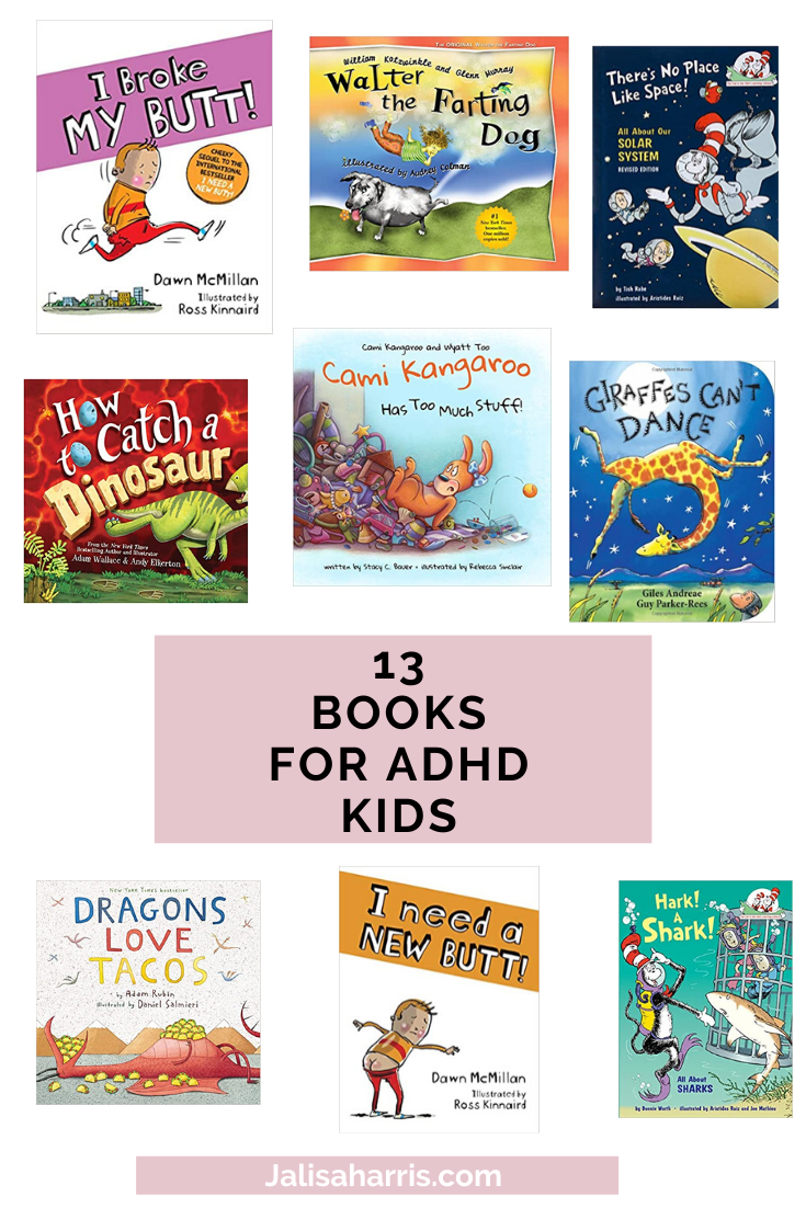 13 books for adhd kids